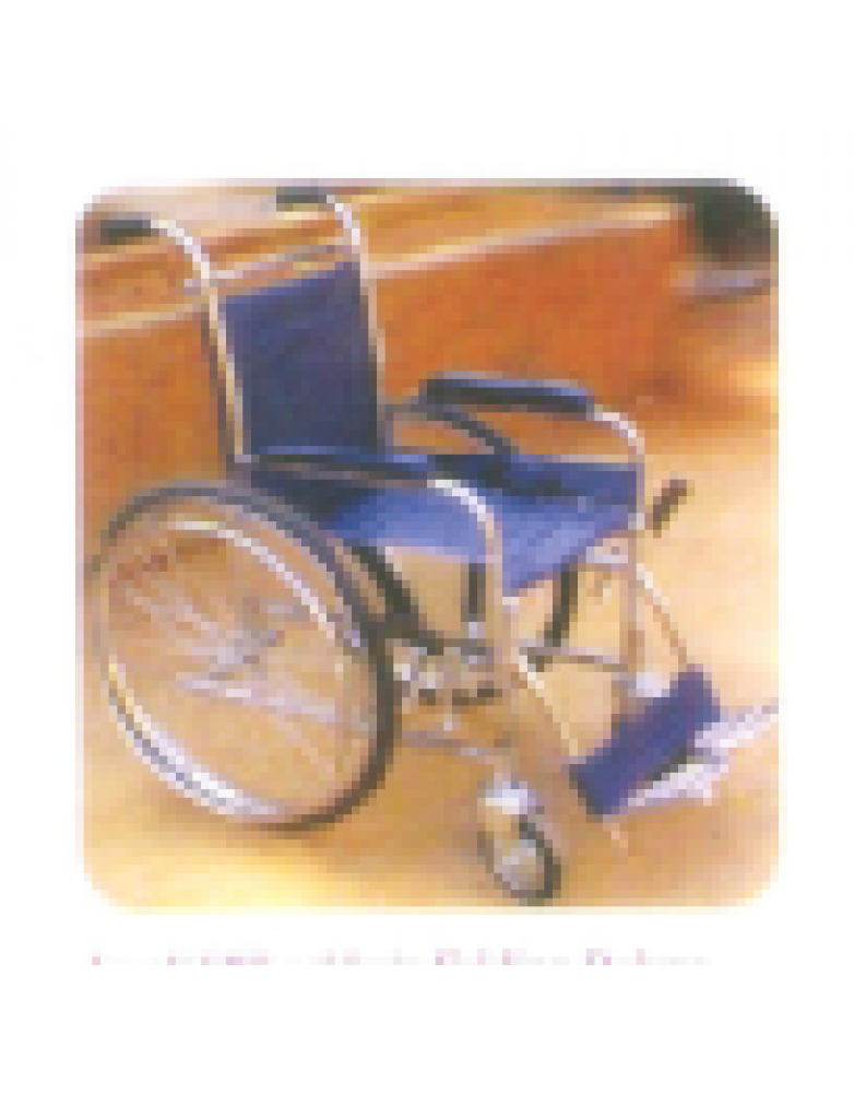 Invalid wheelchair Folding Deluxe