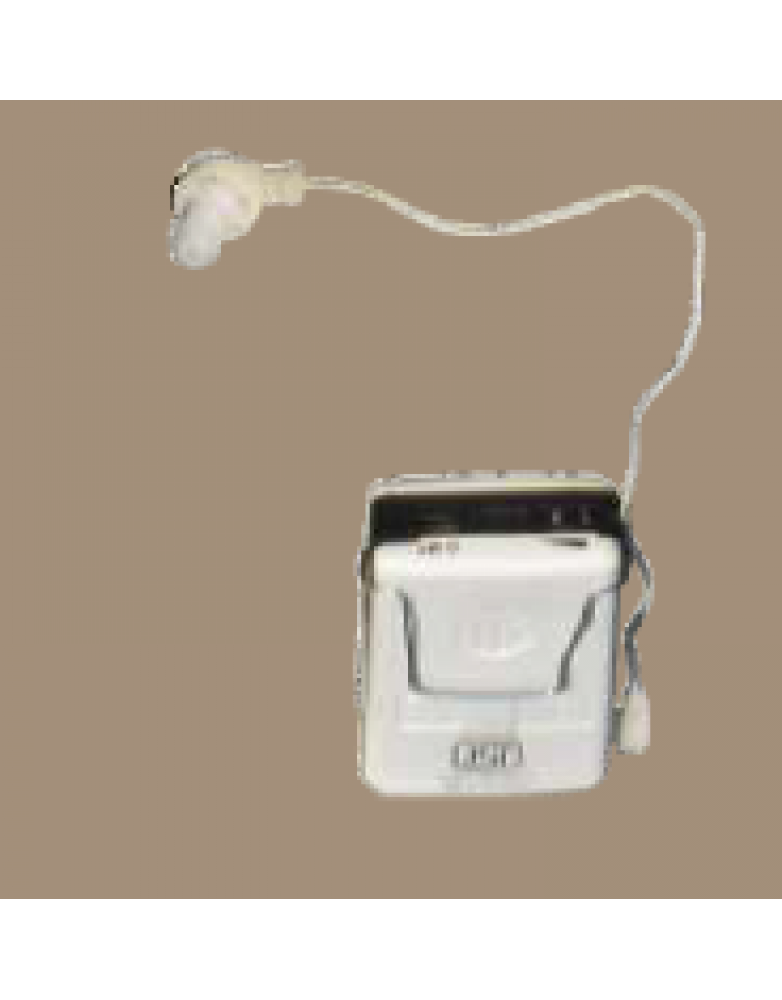 Hearing Aid 2 Pin Monaural Pocket Type