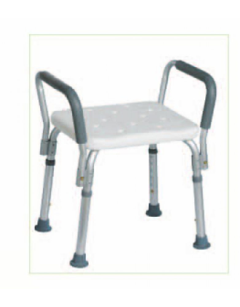 Shower Chair with Armrest (BE610091)