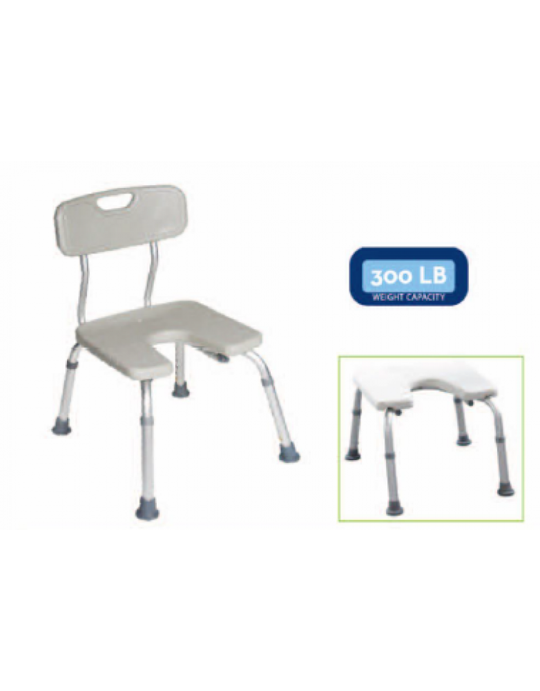 """U "" Shaped Shower Chair (BE 62037)"