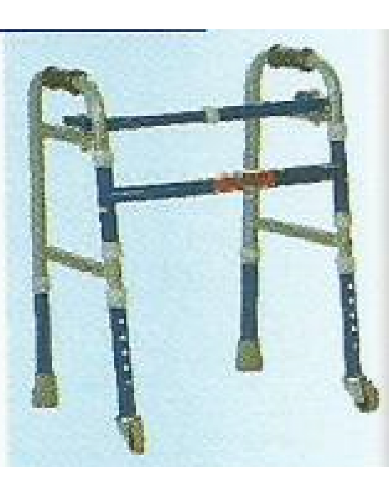 Invalid Foldable Adjustable Walker  Castors