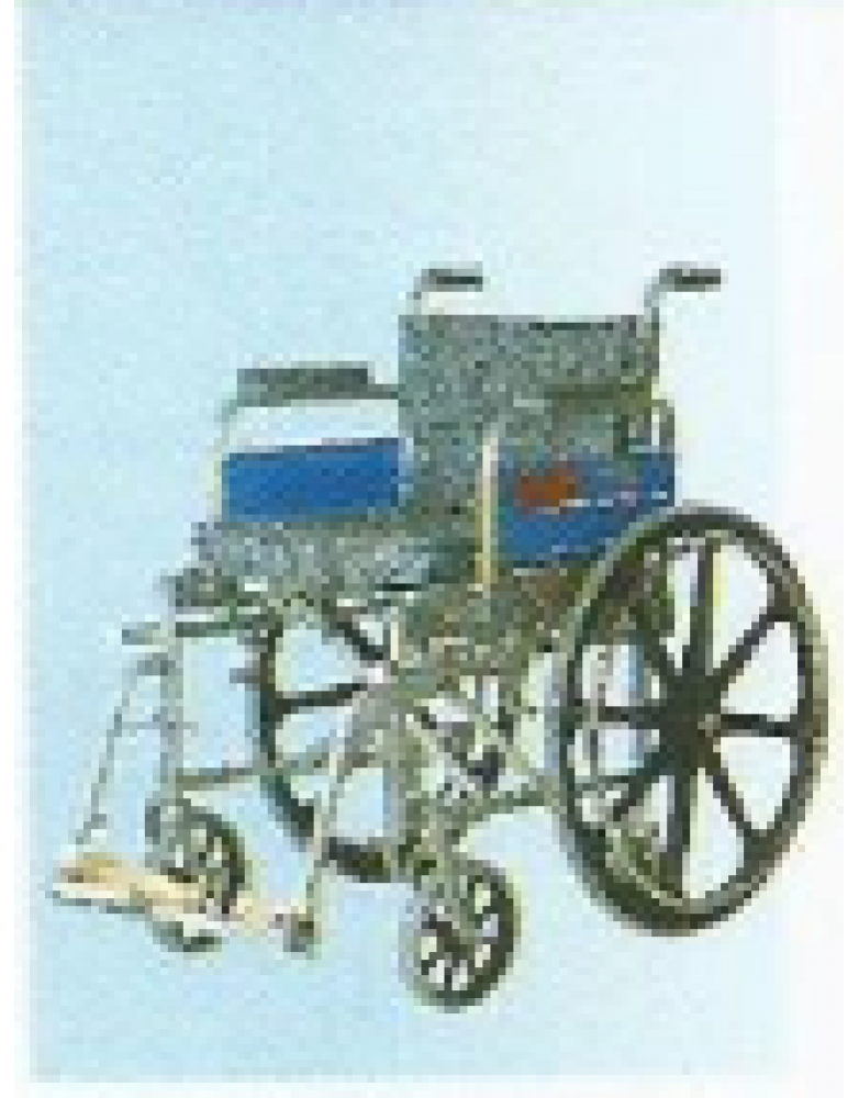 Invalid Wheel Chair - Deluxe / Folding / Mag Wheels