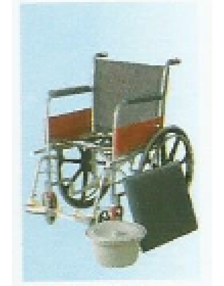 Invalid Wheel Chair Regular with Commode / Mag Wheels