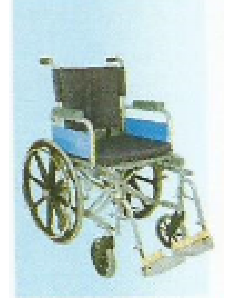 Invalid Wheel Chair Deluxe with high back rest / Mag Wheels