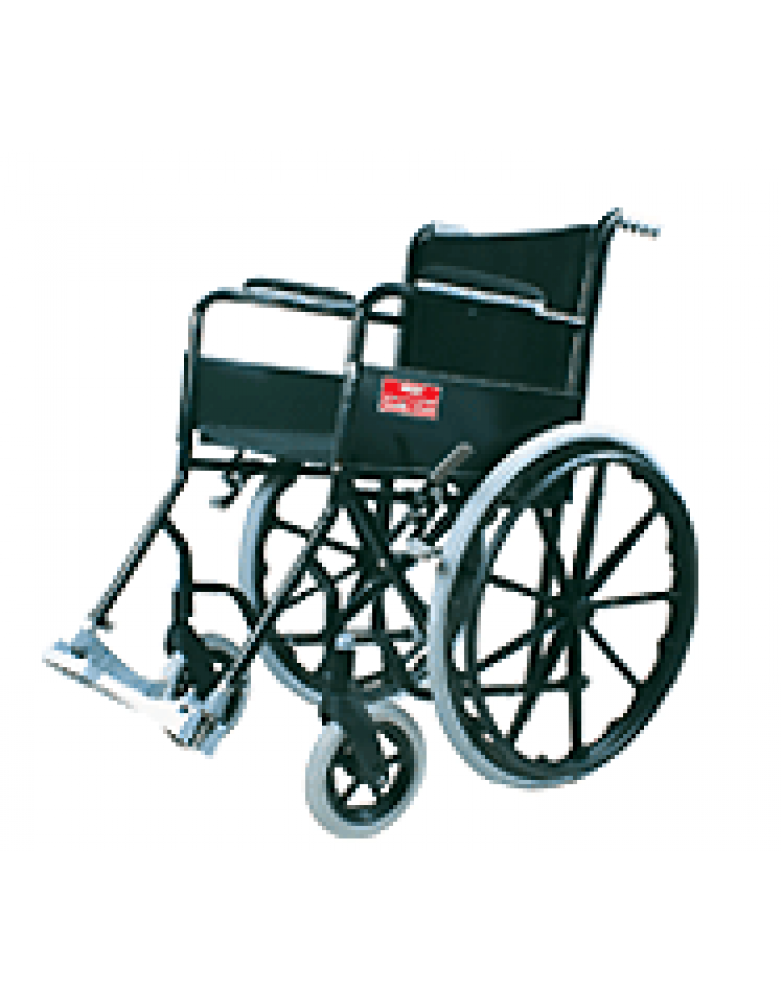 Black Magic Wheel Chair  Mag Wheels