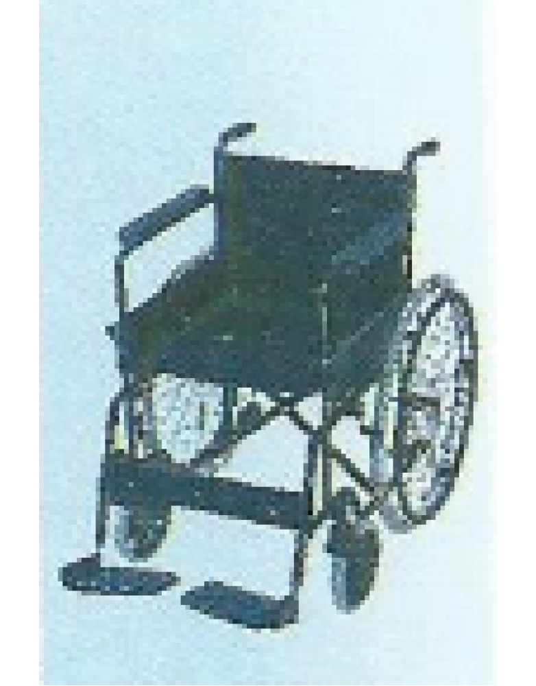 Black Magic Invalid Wheelchair Deluxe