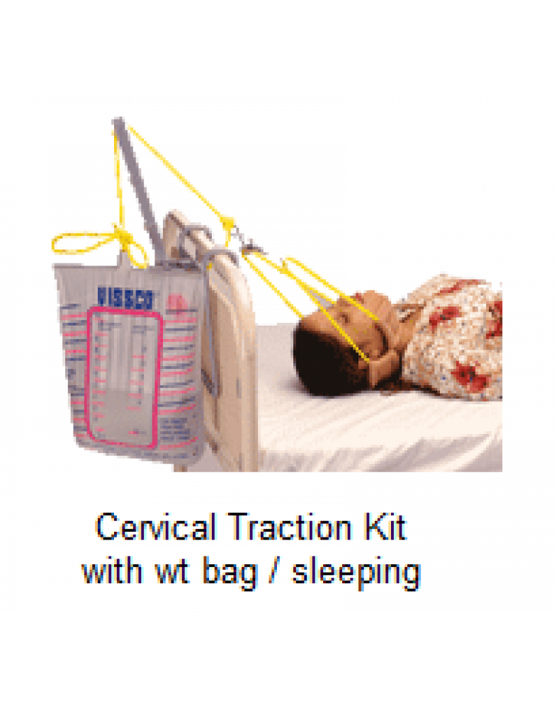 Cervical Traction Kit with wt bag / sleeping