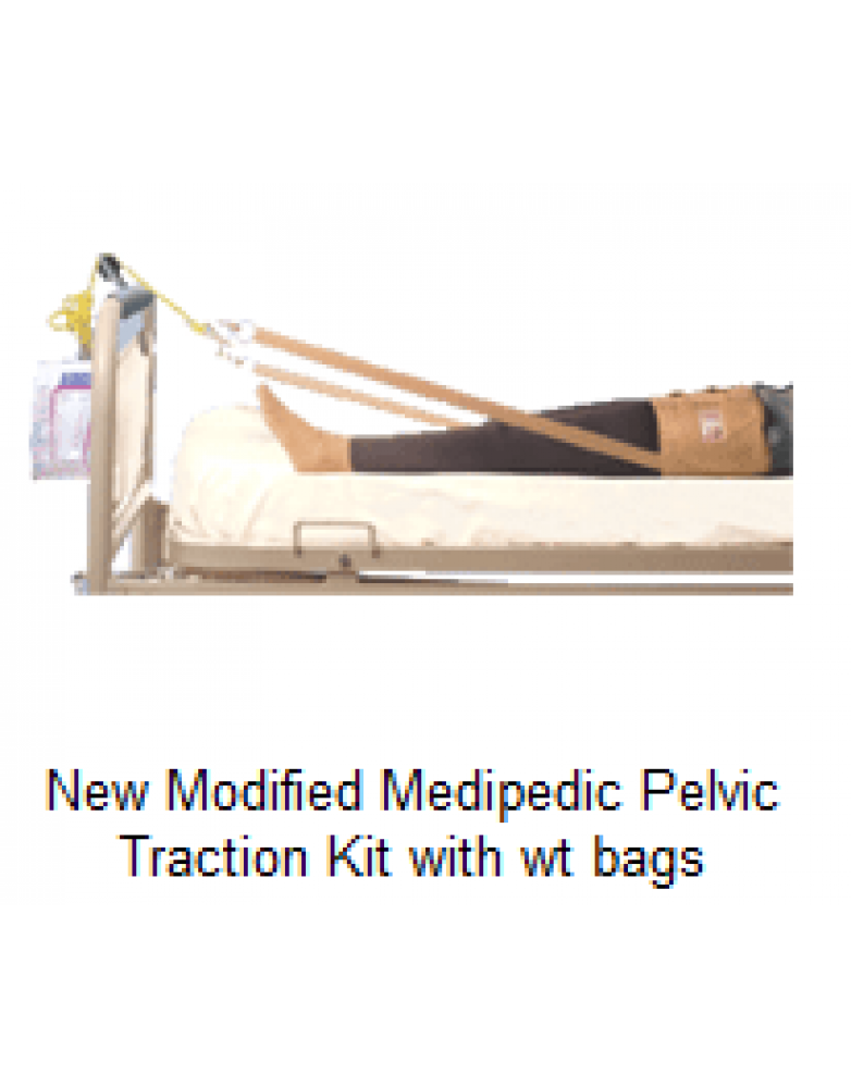 New Modified Medipedic Pelvic Traction Kit with wt bags
