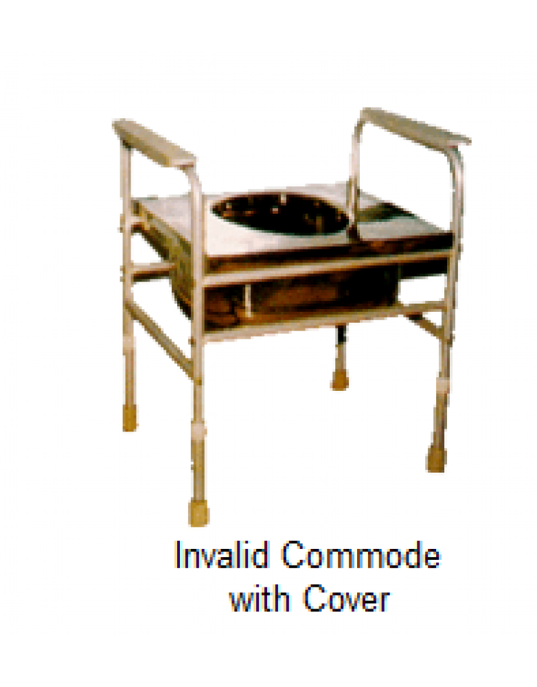 Invalid Commode with Cover