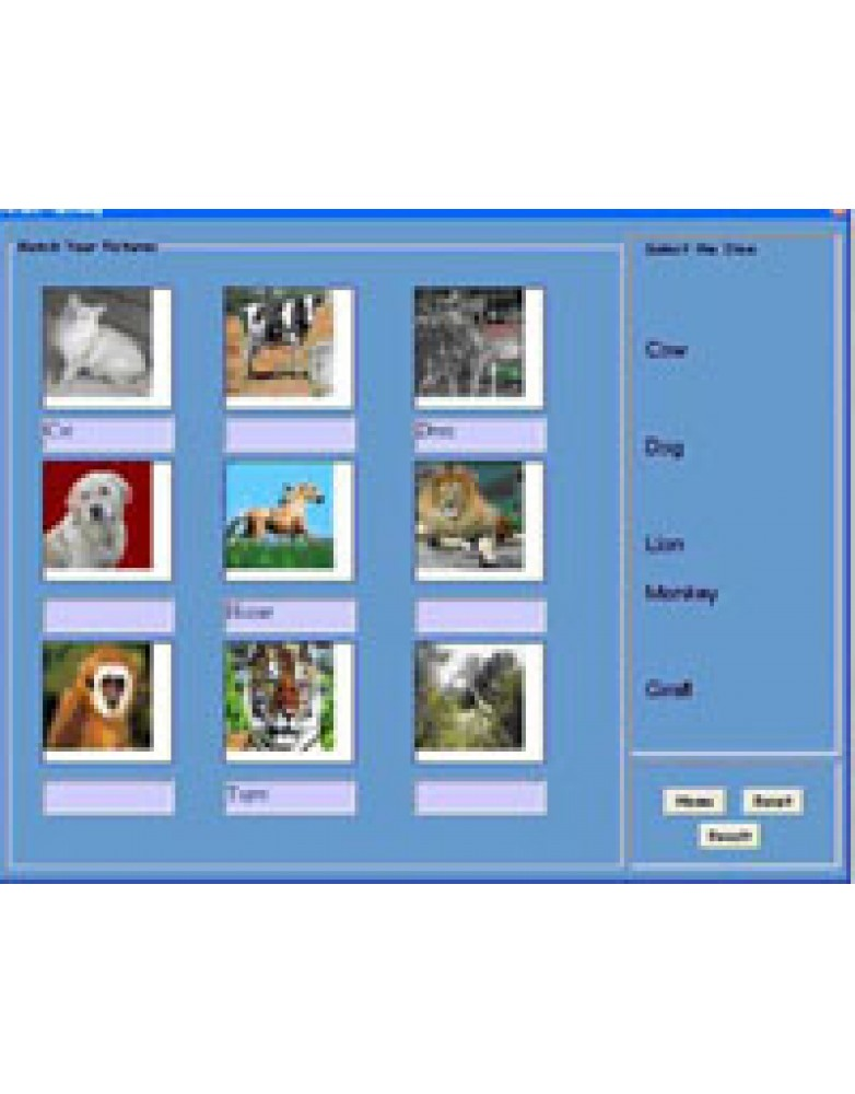 Multimedia CD for language skill development