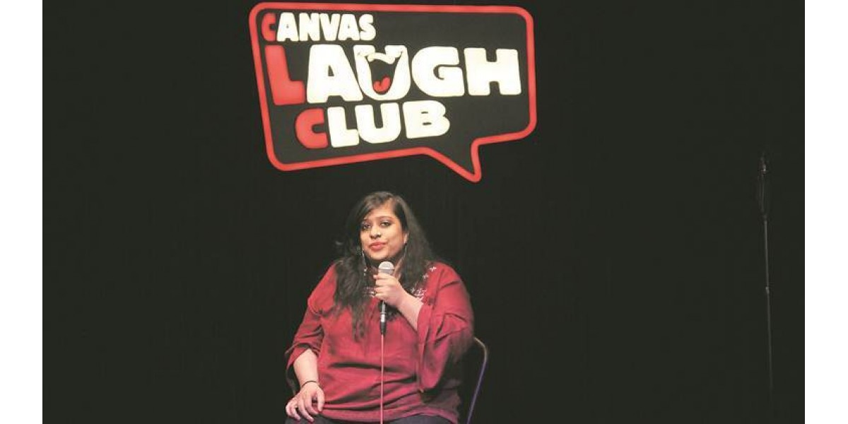Sweta Mantrii, who took to stand-up  to talk about disability