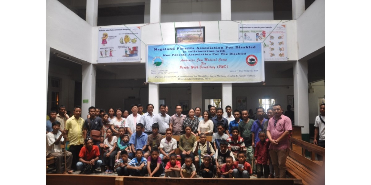 DDDPPA organizes relief camp for disabilities