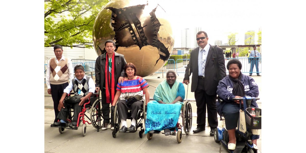 Women with disabilities come together & spoke